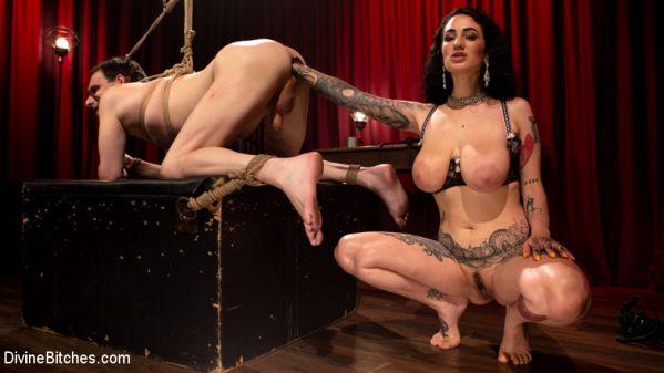 DivineBitches - Arabelle Raphael - Arabelle's Trashcan: Arabelle Raphael Destroys Marcelo (05.11.2019) [HD 720p]