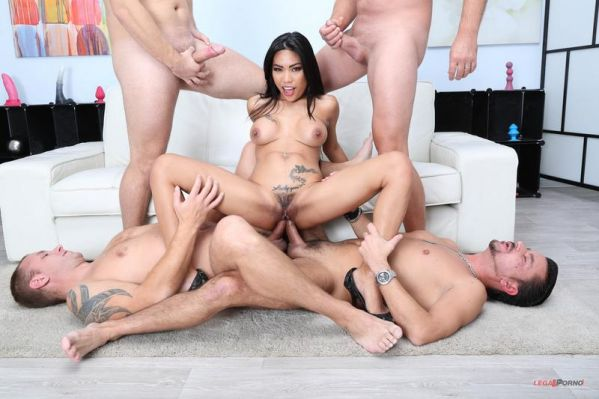 LegalP0rno: Polly Pons - Lesson 5 Polly Pons gets it Balls Deep in all possible ways 4on1 Anal, DP, DAP, Gapes, Creampie Farts GIO1262 (HD/720p)