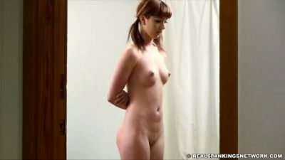 RealSpankingsNetwork - Autumn: Pulled from Bathroom and Spanked Nude