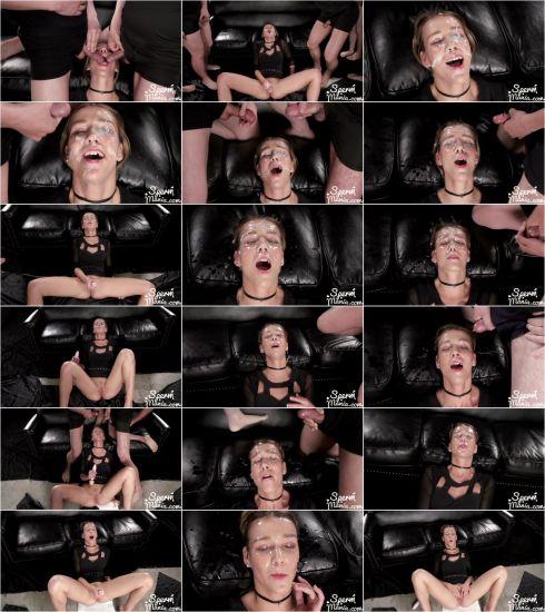 Alexis Crystal - Alexis Crystal's Sticky Bukkake Facial (22.11.2019) [FullHD 1080p] (Spermmania)