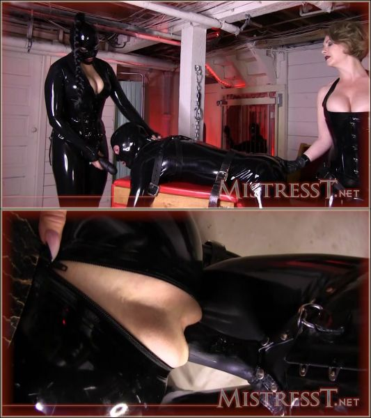 MistressT - Mistress T - Double Domme Latex Fetish Ass Destruction (26.10.2019) [HD 720p]