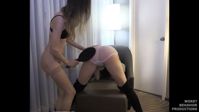 Alora's Revenge - Arielle Spanked, Paddled, Strapped and Penalty Swats - Part One