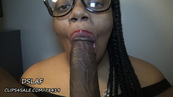 Clip4Sale - Dick Sucking Lips And Facials - DSLAF - Nerdy Bitch Puckers Lips-Gags-Then Takes A Facial Part 1 (23.11.2019) [FullHD 1080p]