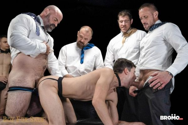 BRM - Boy For Sale - Group Auction Orgy