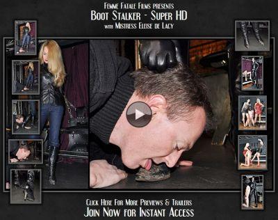Boot Stalker – Mistress Eleise de Lacy