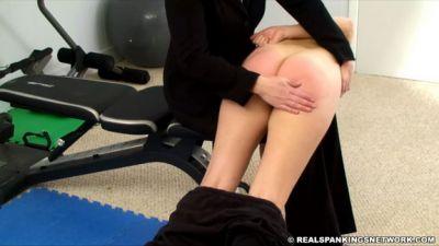 RealSpankingsNetwork - Abigail Spanked for No Bra