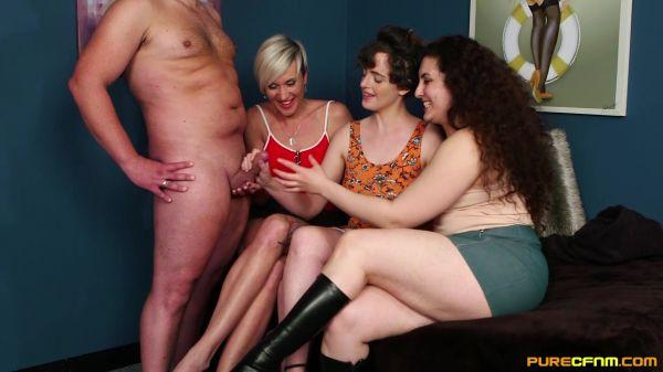 Katie Olsen, Lili Miss Arab, Tanya Virago - We Demand Cum (29.11.2019) [FullHD 1080p] (PureCFNM)