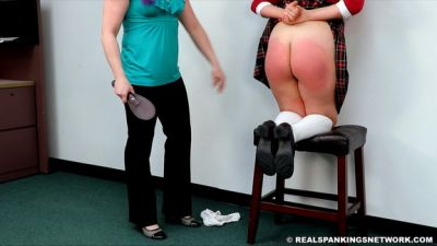 RealSpankingsNetwork - Stella: Spanked by The Dean & Miss Betty (Part 2 of 2)