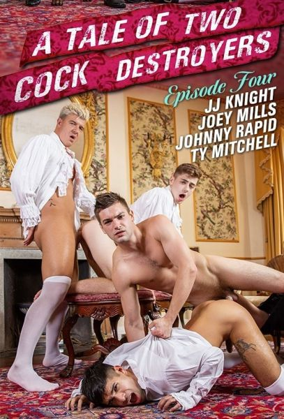 MN - A Tale Of Two Cock Destroyers Episode 4 - Johnny Rapid, JJ Knight, Ty Mitchell, Joey Mills