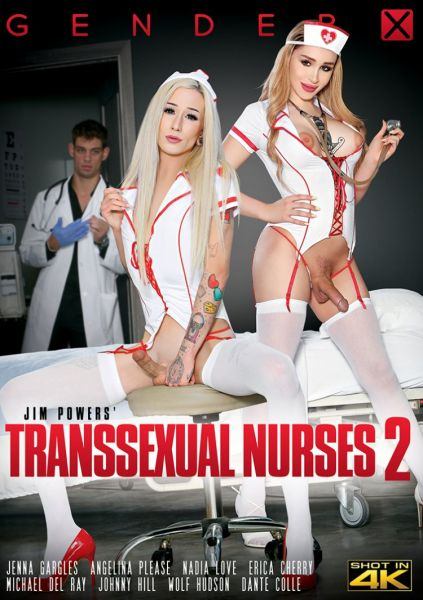 GenderX: Angelina Please, Erica Cherry, Jenna Gargles, Nadia Love - Transsexual Nurses #2 [FullHD/1080p]