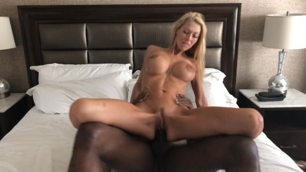HOLLYHOTWIFE - Morning Turns To Knight [HD 720p] (Interracial)