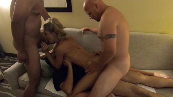 HOLLYHOTWIFE - The Big Fan Bang: GoPro View [HD 720p] (Gangbang)