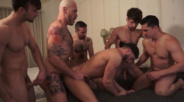 TIM - Fuck Me, Bro! - Scene 5 - Chase Parker, Topher Dimaggio, Parker Logan, Drew Dixon, Derek No...