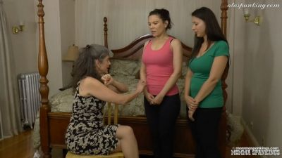 Mommaspankings – Cousins Spanked Together