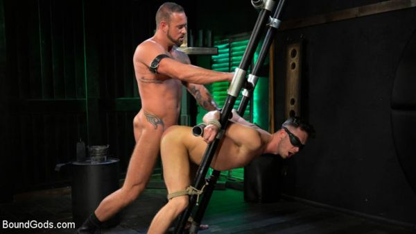 BG - I Dream of Leather - Damon Heart Submits to Leather God Michael Roman