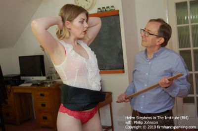 FirmHandSpanking – Helen Stephens – The Institute – BM