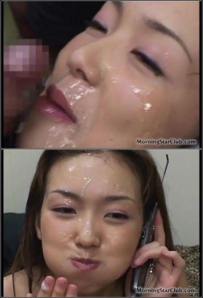 Moe Nishimura - Bukkake Phone Call [SD 480p] (MorningStarClub)