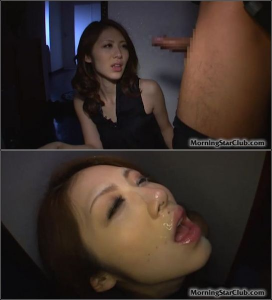 Riko Miyase - Stairwell Blowjob Bukkake [SD 480p] (MorningStarClub)