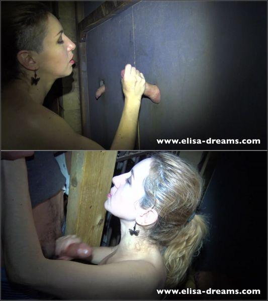Elisa-Dreams - Elisa Dreams - Striptease, Blowjobs and Cumshots in a swingers club [FullHD 1080p]