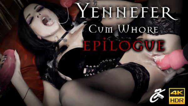 KsuColt - Yennefer Cum Whore. Epilogue. CST (08.10.2019) [UltraHD/4K 2160p] (Dildo)