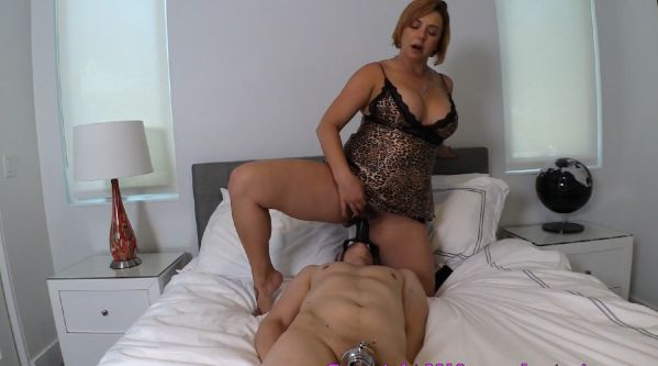 Brianna - Mother Straps Dildo to Sons Face