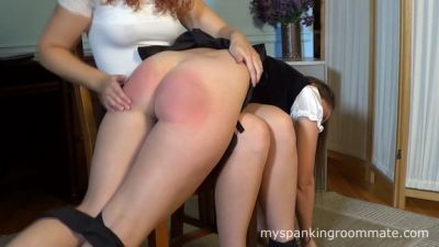 MySpankingRoommate – Madison Spanked For Missing Rent