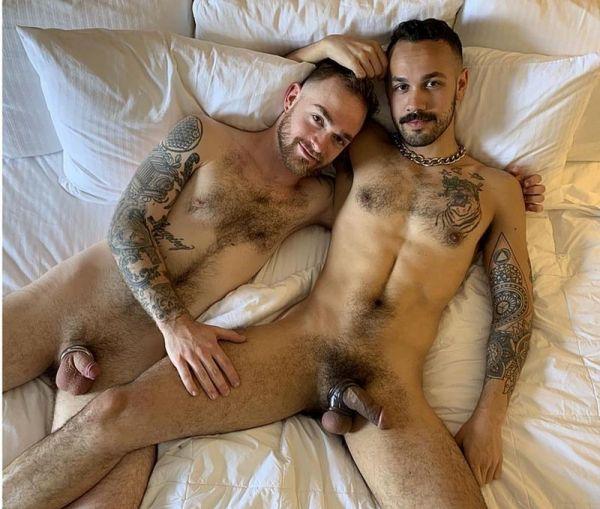 Adam Chase & DeAdam Chase & Dev Tyler - Anal Otters - Bareback