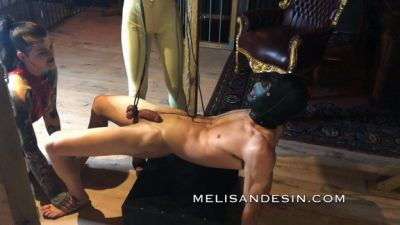 """Miss Melisande Sin – By the balls """"plank"""""""