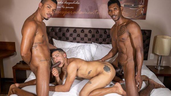 RawHole - Italo Andrade, Gustavo Ryder, Kadu Castro - Tag Team on Italo's Ass