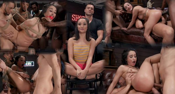 Isabella Nice - Gang Bang Pawn Shop: Isabella Nice Pays off Debt with All Her Holes (11.12.2019) [SD 540p] (BoundGangBangs)