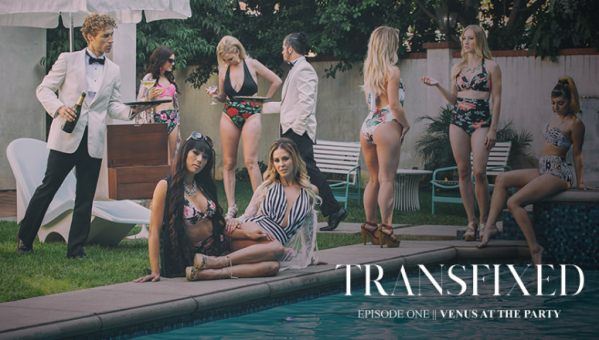 Episode 1 - Venus at the party - Starring Venus Lux and Cherie DeVille (2019 / FullHD 1080p)