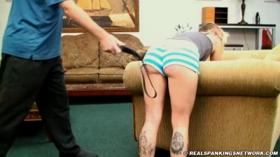 RealSpankingsNetwork - Devon's Mouth Gets Her in Trouble